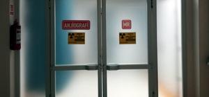Antalya'da MR cihazına ait parçalar çalındı