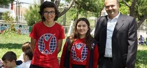 Aydın'da en anlamlı 23 Nisan kutlaması Engelli öğrenciler bayramlarını doyasıya kutladı