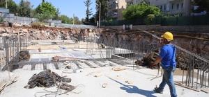 Haliliye Belediyesi Gençlik ve Kültür Merkezi inşaatı devam ediyor