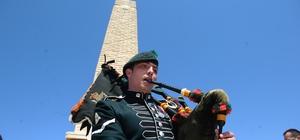 Çanakkale Kara Savaşları'nın 103'üncü yıl dönümü törenle anıldı