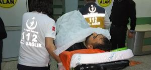 Samsun'da balkondan düşen Iraklı ağır yaralandı