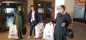 Kadın meclis üyeleri anne mahkumları unutmadı