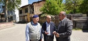 Başkan Arslan, esnaf ve vatandaşları ziyaret etti