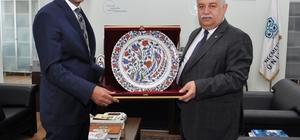 ÖSYM Başkanı Prof. Dr. Mahmut Özer'den NEÜ'ye ziyaret