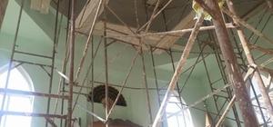 Daday'da tadilata alınan cami, ibarete kapatıldı