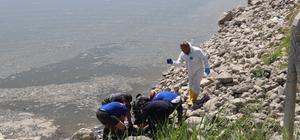 Denizli'de barajda bulunan ceset