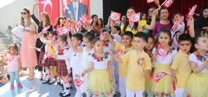 Çocuk Gündüz Bakım Evi öğrencilerinden 23 Nisan gösterisi