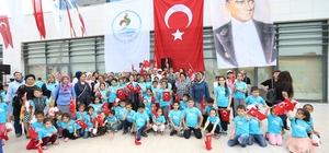 Pamukkale Belediyesi'nden çocuklara özel bayram eğlencesi