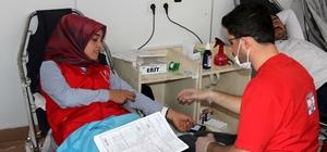 Hizan'da kan bağışı kampanyası