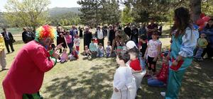 Amasya'da şehit aileleri ve gaziler piknikte buluştu