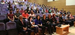 """NEVÜ'de """"Gencim, Girişimciyim, Türkiye'nin Geleceğiyim"""" konulu panel düzenlendi"""