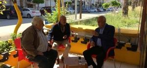 Başkan Seyfi Dingil taksici esnafını ziyaret etti