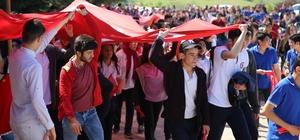 Tokat'ta '57'inci Alay Çanakkale Vefa Yürüyüşü'