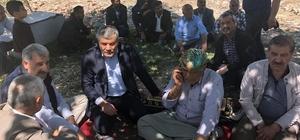 """Samsat'taki depremzedeler için """"Bir koyun da sen ver"""" kampanyası"""