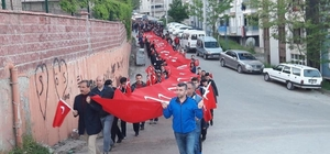 Bartın ve Karabük'te 56'nci Alay'a vefa yürüyüşü gerçekleştirildi