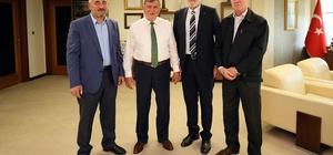 Karaosmanoğlu, Bosna Hersekli Belediye Başkanını ağırladı