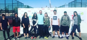 Adıyamanlı tenisçiler Malatya'dan dereceyle döndü