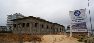 Karapınar Mahallesi Taziye Evi inşaatı devam ediyor