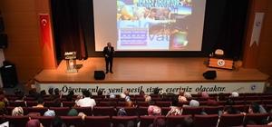 """""""2023 Vizyonunda Yerli ve Milli Sanayi"""" konulu konferans"""