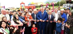 Seyhan Belediyesi'nden Karaisalı'ya çocuk ve dinlenme parkı