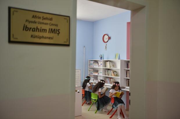 Köy okuluna kütüphane kurma şartıyla uzlaştılar