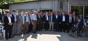 Vali Ceylan Karamehmet Mahallesi'nde vatandaşlarla bir araya geldi
