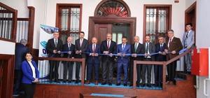 Restore edilen tarihi konakta OKA ofisi açıldı