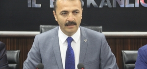 "AK Parti İl Başkanı Nurettin Doğanay: ""CHP'li 15 milletvekilinin yerinde olmak istemezdim"""