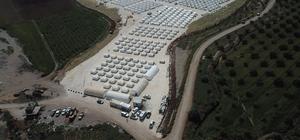 AFAD'ın kurduğu çadır kenti Mehmetçik koruyor