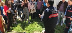 Tekirdağ Afet Gönüllüleri Projesi Eğitimleri tamamlandı