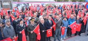 """Afyonkarahisar'da """"57. Alaya Vefa Yürüyüşü"""" gerçekleştirildi"""