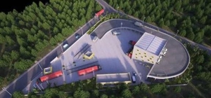 Van'ın ilk katı atık aktarma istasyonu inşaatı