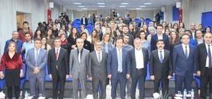 Kızılkaya Hakkari il kalacak müjdesi verdi Başbakan başdanışmanı Kızılkaya aday öğretmenlerle bir araya geldi