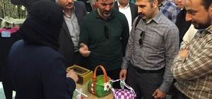 Suriye'nin Mera kasabasında dikiş nakış mesleki eğitim kursu açıldı