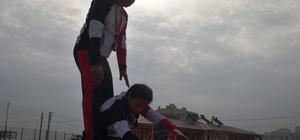 Türkiye şampiyonu milli atlet, olimpiyatları hedefliyor