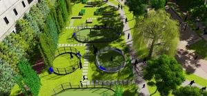 İpekyolu belediyesinden çok amaçlı park