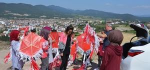 Osmaneli 'de Uçurtma Şenliği düzenlendi