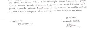 2 TL'lik otopark ücretini memleketinden postayla gönderdi
