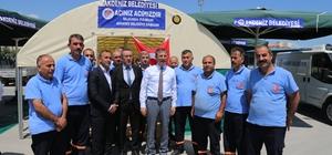 Akdeniz'de, cenaze hizmetleri araç filosu güçlendirildi