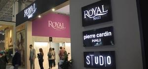 Royal Halı ve Pierre Cardin Halı'nın En Yeni Koleksiyonları Domotex Fuarı'nda Tanıtıldı