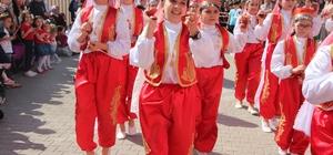 Edebali Ortaokulu'ndan 23 Nisan coşkusu sürüyor