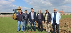 Tavşanlı Karakova semt sahaları yeniden yapılıyor