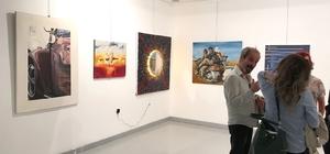 """Ercan Güler """"Sanatta 40.Yıl"""" uluslararası karma sergisinde yer aldı"""