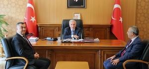 KAYSO Başkanı Büyüksimitçi'den Vali Kamçı'ya Ziyaret