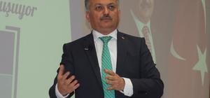 """Vali Yazıcı üniversitelilerle buluştu Balıkesir Valisi Ersin Yazıcı: """"Tacize affım yok"""""""