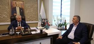Başkan Toçoğlu Ticaret Borsasını ziyaret etti