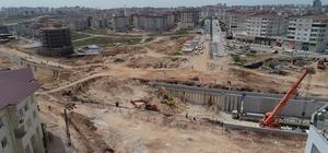 Köprülü kavşak bölgeyi rahatlatacak Büyükşehir yeşilvadi kavşağı'ndaki çalışmalarda hız kesmiyor