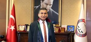 """Mersin Barosu Başkanı Ali Er, istifa etti Ali Er, milletvekili aday adayı olmak için baro başkanlığından istifa ettiğini duyurdu Er: """"27. dönem milletvekili aday adayı olmak üzere Mersin Barosu Başkanlığı'ndan istifa etmiş bulunmaktayım"""""""