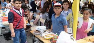 Türk ve Suriyeli çocuklar şenlikte buluştu