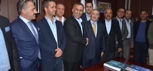 Yüksekova'da ticaret odası başkanı Pınar oldu